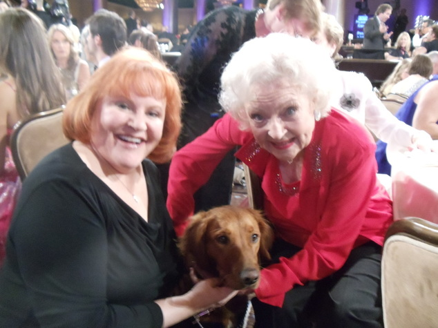 Hero dog Betty White