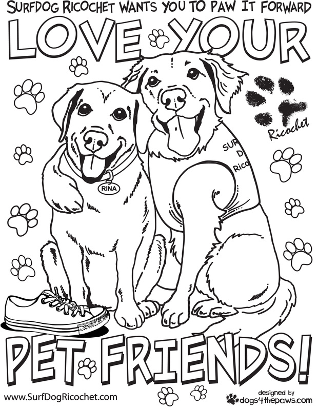 Click On The Coloring Pages Below To Make Them Bigger Then Print Out And Color Thanks My Good FURiends At Dogs4thePaws For Making