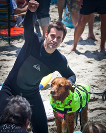 Surf dog Ricochet Cameron Mathison