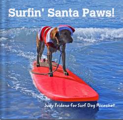 surf dogs Christmas book