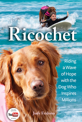 Surf dog Ricochet's book cover