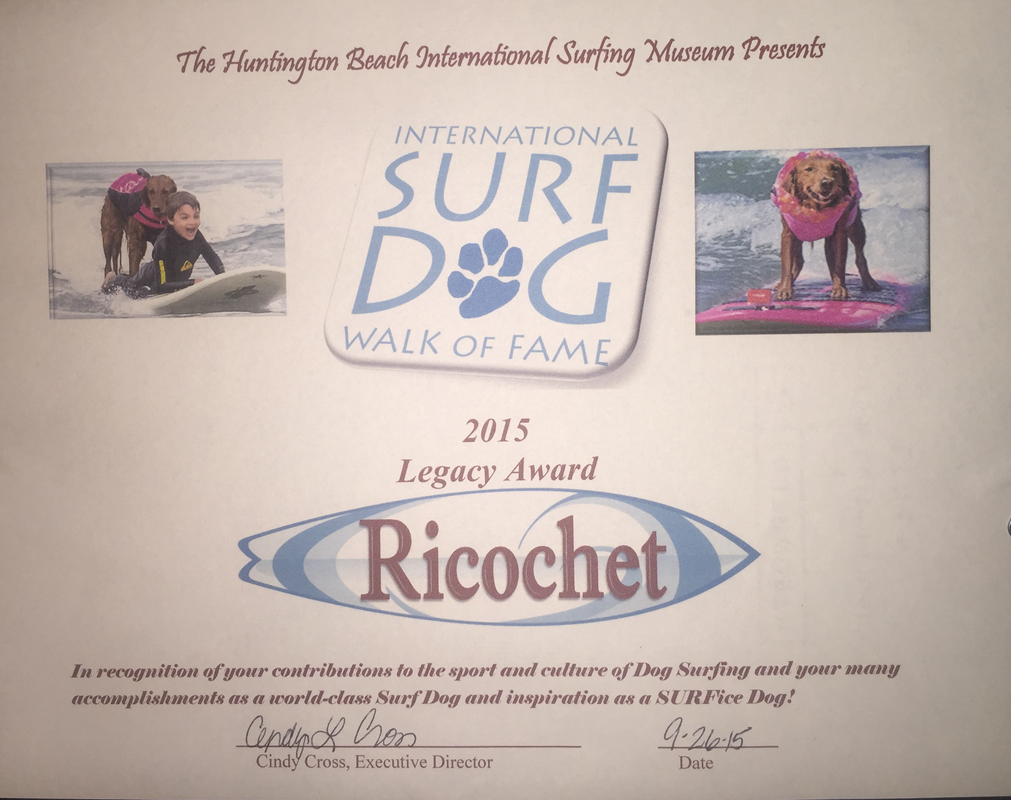 Surf dog hall of fame