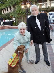 Partridge family & surf dog Ricochet