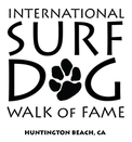 Surf dog walk of fame